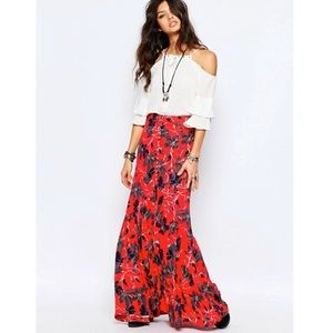 Free People Smooth Sailing Maxi Skirt